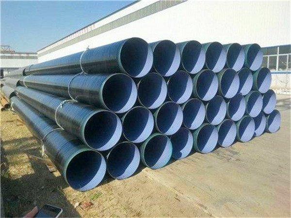 泉州污水处理用防腐钢管厂家/价格多钱一米