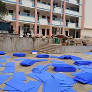 新闻:衢州欢迎选购大块软连接悬浮地板球场用
