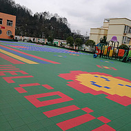塑胶:球场拼装地板新疆生产厂家欢迎您@