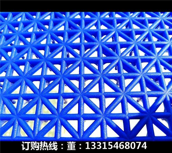 新闻:米易县彩色组装地板-篮联认证