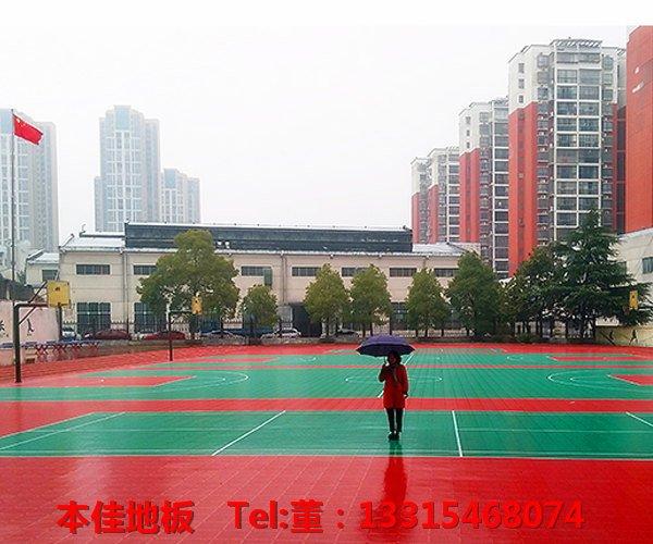 AA黔西州室外拼装悬浮地板铺设:晋城高平