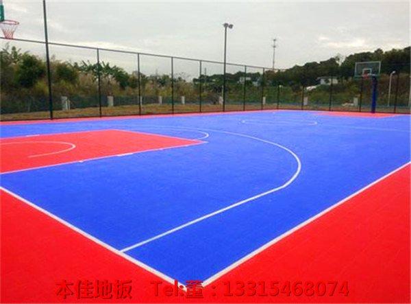 AA复兴环保悬浮拼装地板铺设:安徽滁州