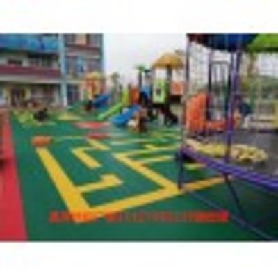 供应:新疆幼儿园室内缓冲垫悬浮地板【石家庄发货】
