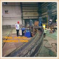 300H型钢弯拱机原理