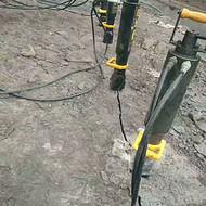 采矿石头开山斧劈裂器/贵州黔西南破岩机