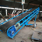 山东省潍坊市汇达爬坡输送机定制 生产装车输送机