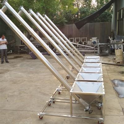 304不锈钢螺旋提升机粮食上料机供应商y8