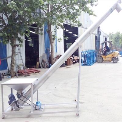 台州倾斜不锈钢螺旋提升机生产y8