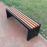 四川泸州公园椅不锈钢景观座椅厂家