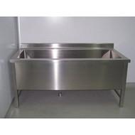 泸州不锈钢工作台不锈钢手推车水槽定制厂家