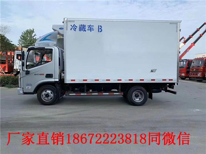 快讯:潮州国六蓝牌冷藏车报价