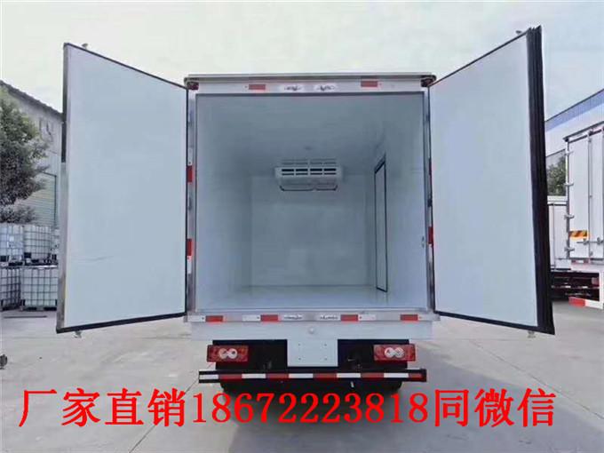 快訊:廊坊肉鉤冷藏車車型介紹