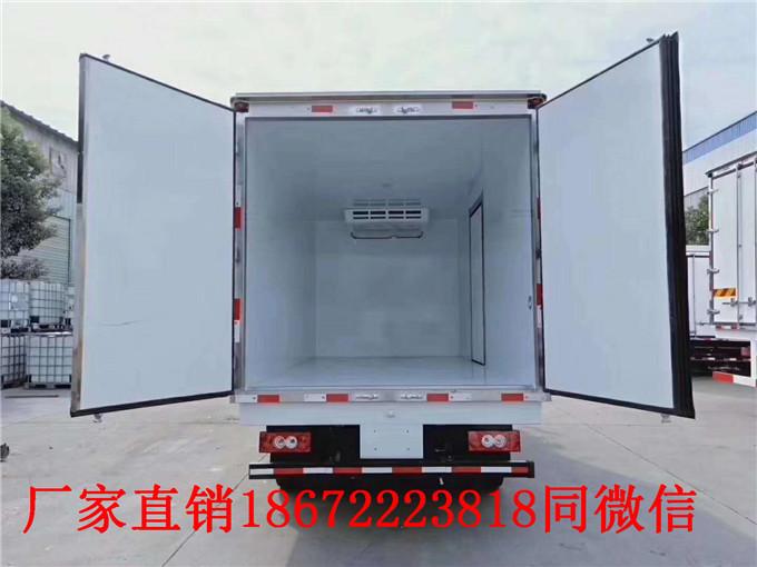 快讯:保定蓝牌冷藏车报价
