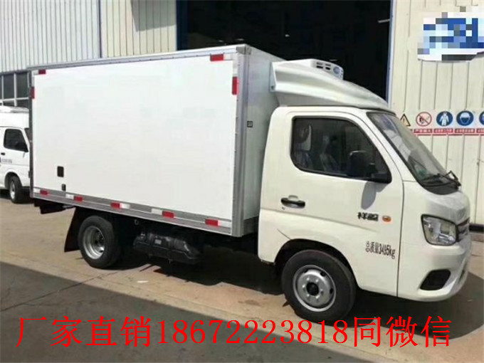 快讯:湖州长安睿行M80面包冷藏车厂家推荐