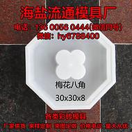 可定制 塑料彩砖模具户外房屋路面各种型号水泥砖 空心砖模盒