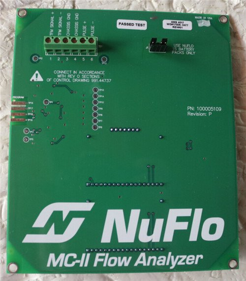 NUFLO流量分析仪主板9A-100005109