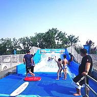 固定式水上冲浪室内冲浪机设备生产安装
