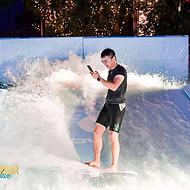 大型水上冲浪设备双人冲浪机设备生产安装