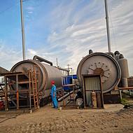 商丘四海废塑料炼油设备环保炼油设备专业可靠