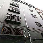 仿古木纹铝窗花德普龙外墙装饰材料哪家好
