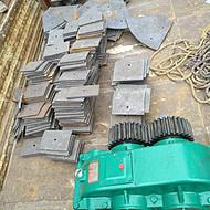 郑州搅拌机配件js系列衬板叶片齿轮轴端密封减速机厂家直销