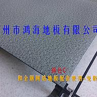 鸿豪磁性自吸地毯配全钢网络地板 办公室写字楼高架钢质地板表面地毯地垫 免胶含磁性